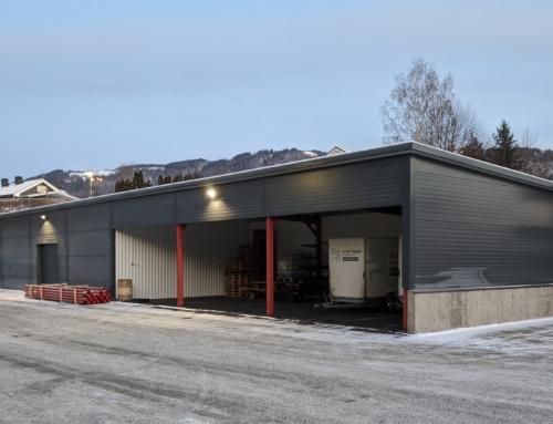 Lagerbygg, Brumunddal